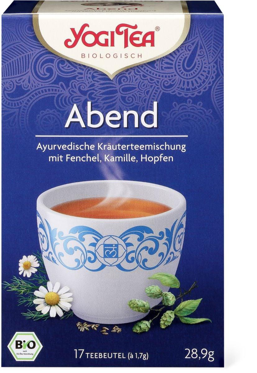 Bio Yogi Tee Abend Tee