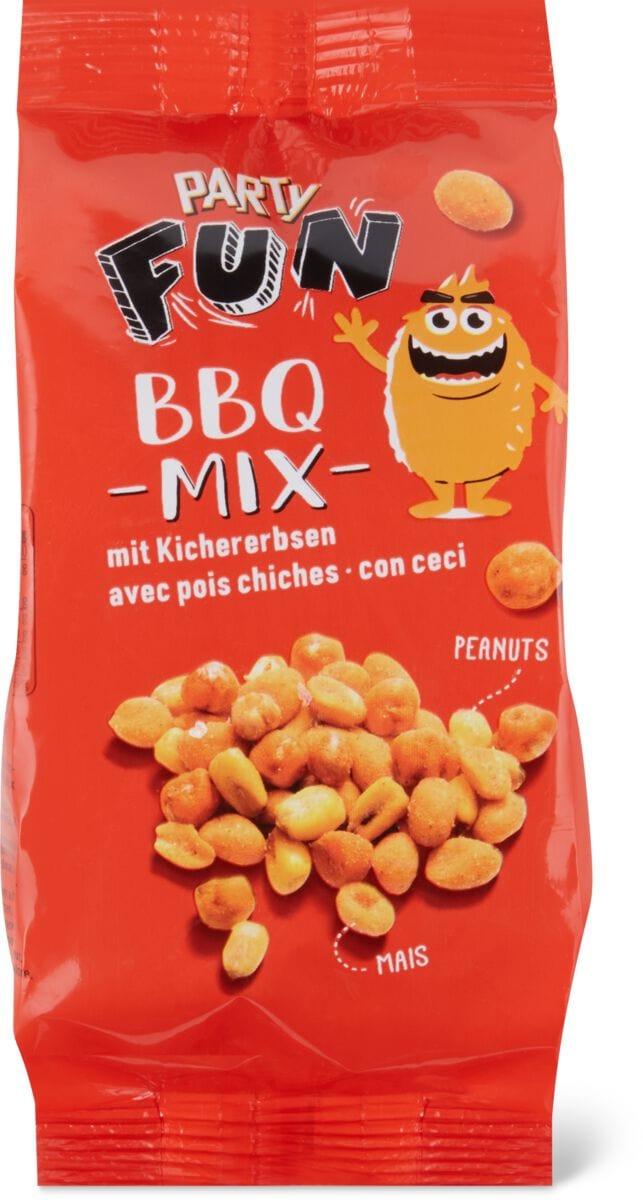 Party BBQ Mix mit Kichererbsen