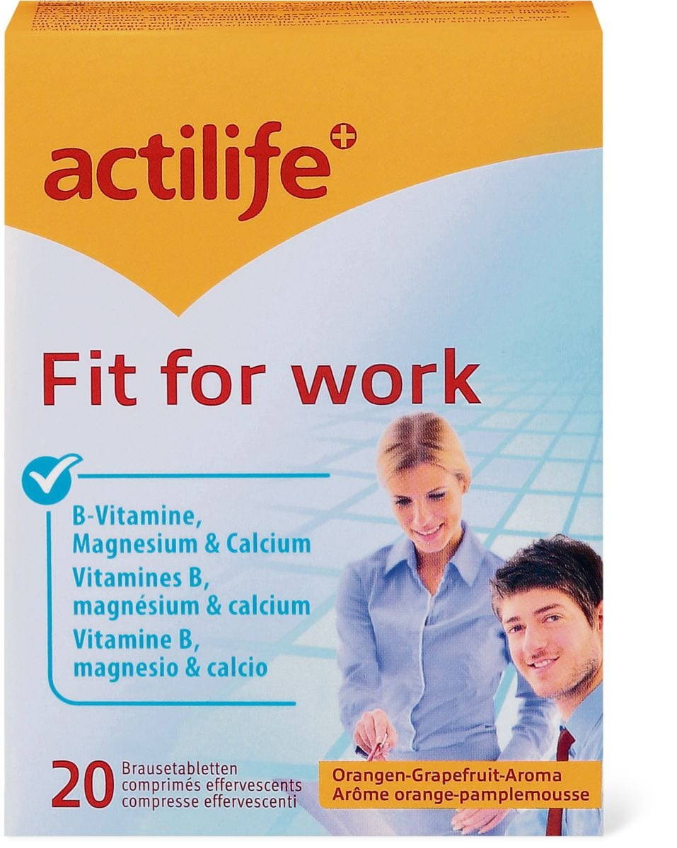 Actilife Fit for Work