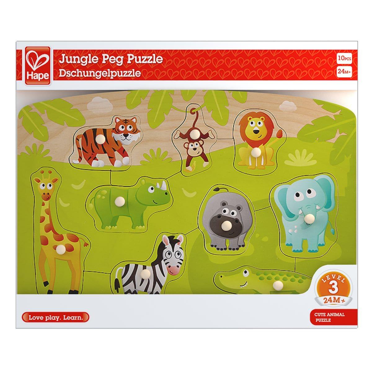 Hape Dschungelpuzzle Puzzle