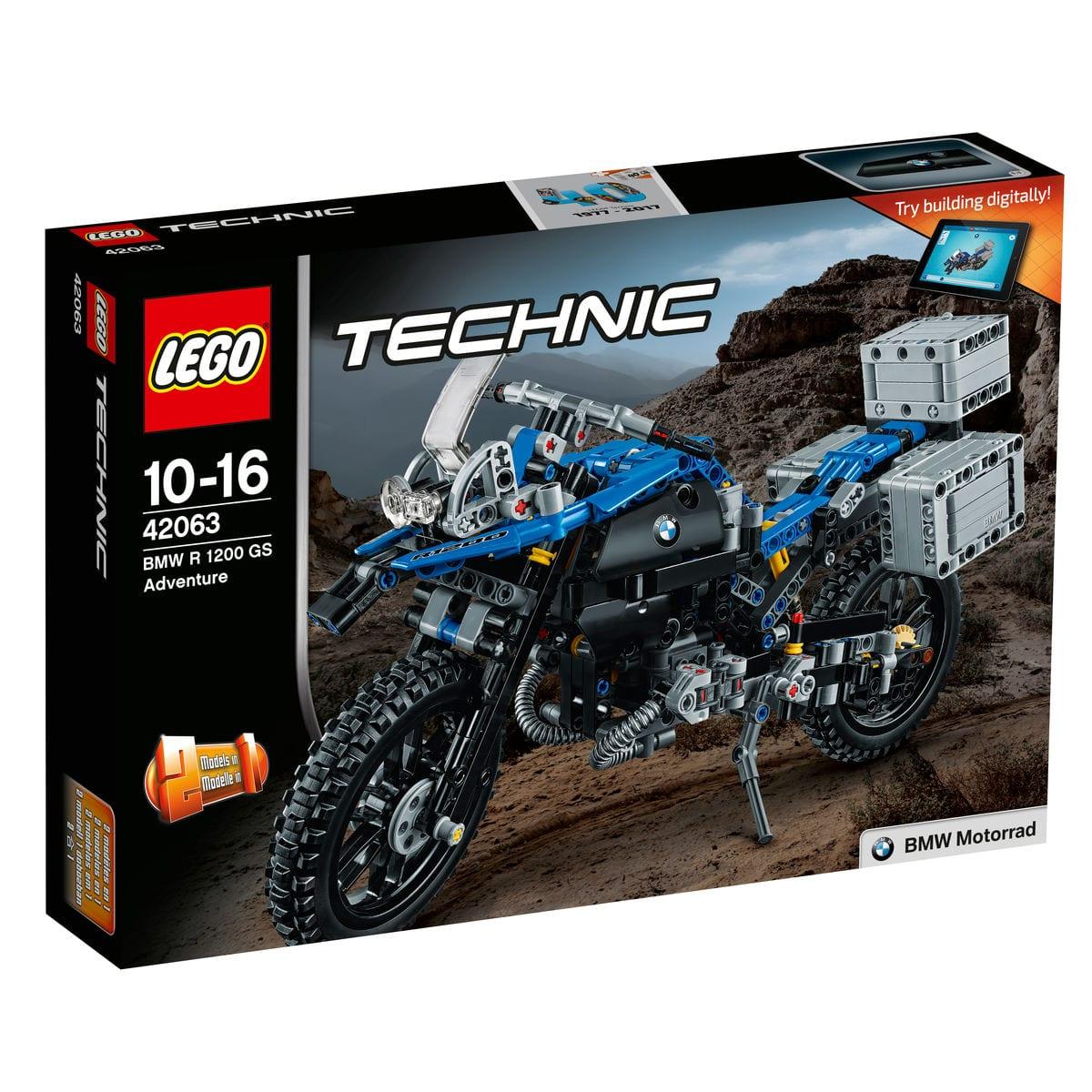 Lego Technic BMW R 1200 GS Adventure 42063