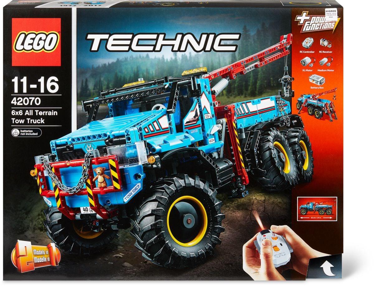 lego technic camion autogr 6x6 42070 migros. Black Bedroom Furniture Sets. Home Design Ideas