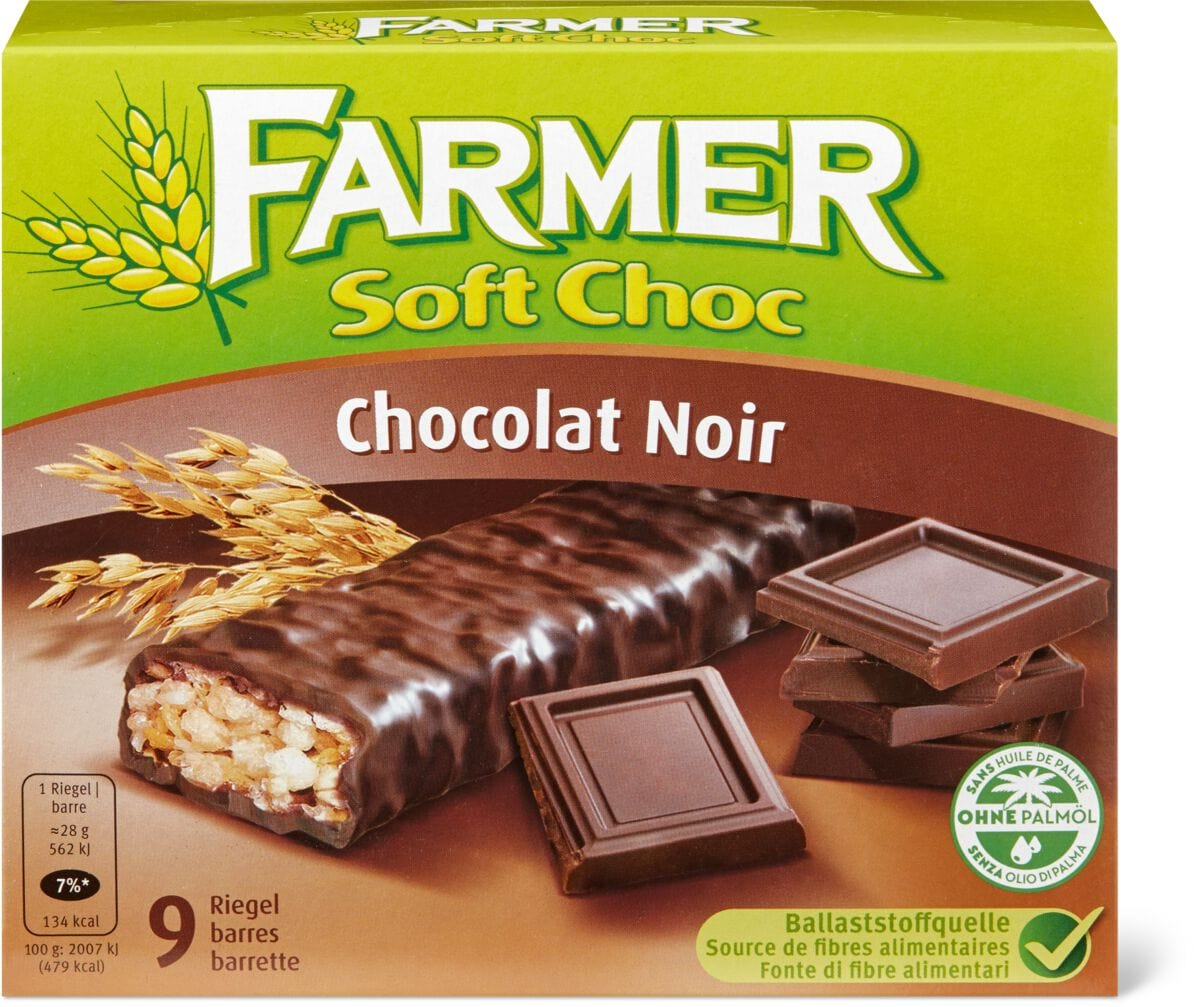 Farmer Soft Choc Chocolat Noir