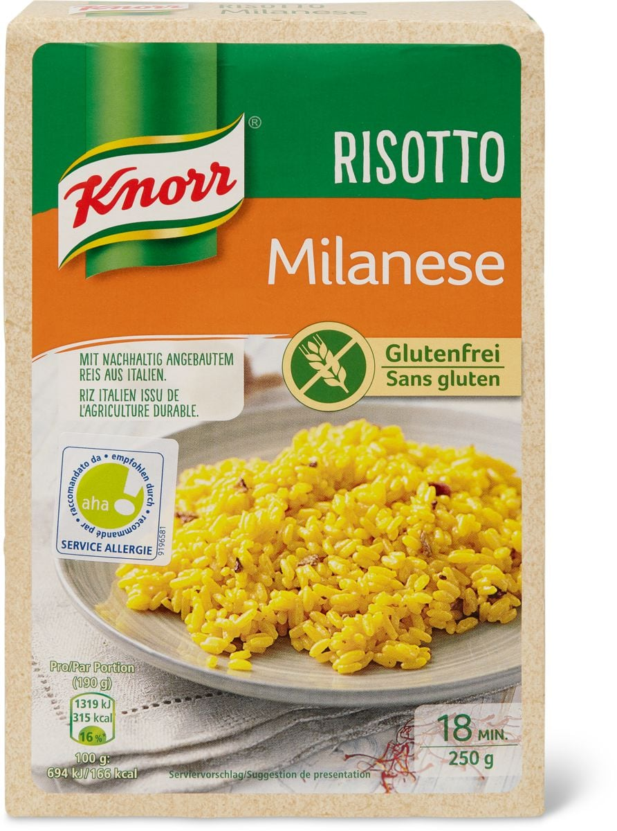 Knorr aha! Risotto milanese