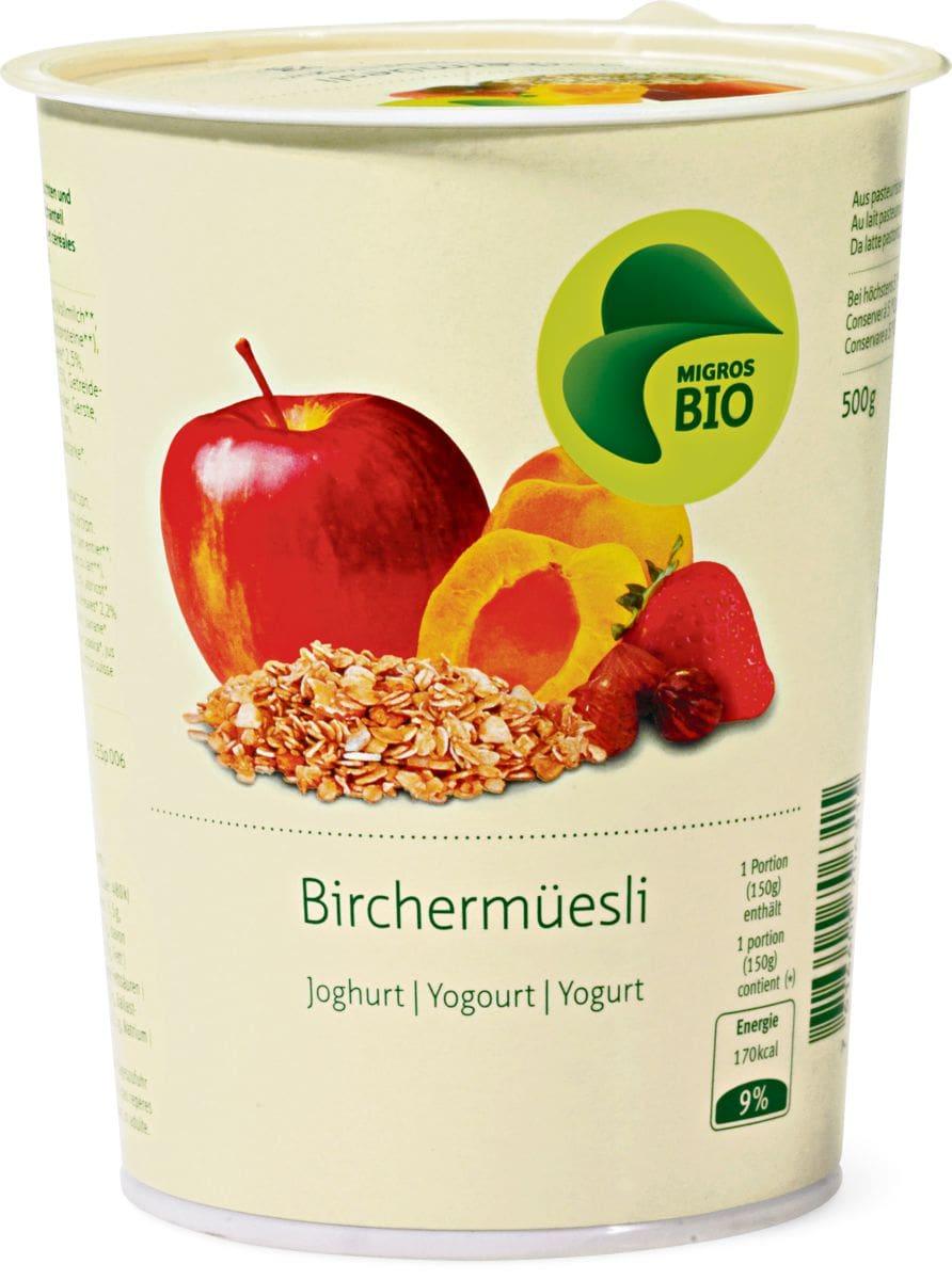 Bio Birchermüesli Joghurt
