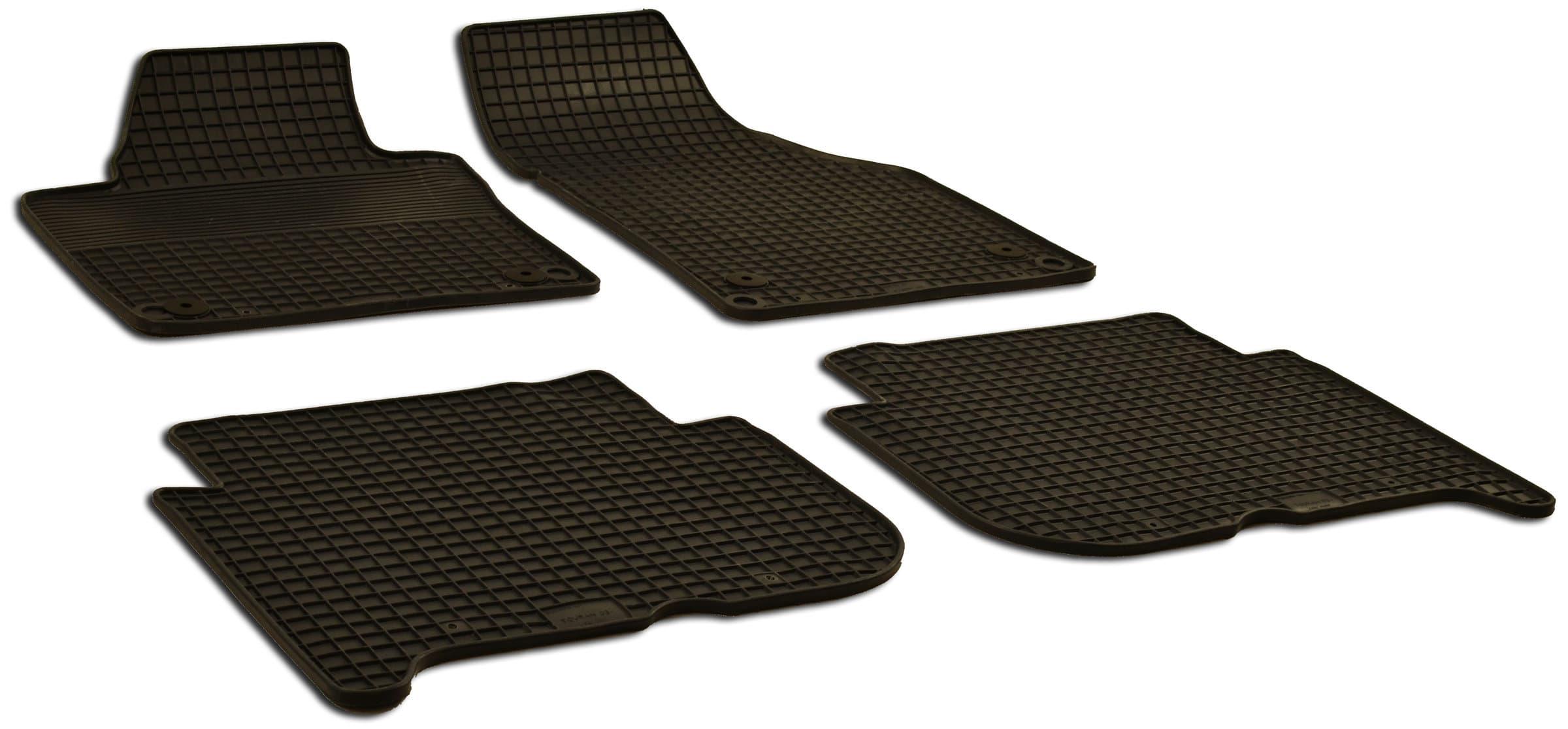 WALSER Set de tapis en caoutchouc VW Tapis de voiture