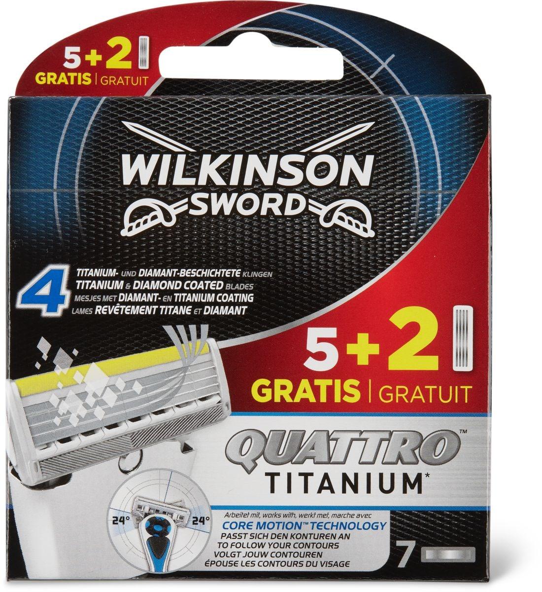 Wilkinson Q.Titanium Lames de rechange