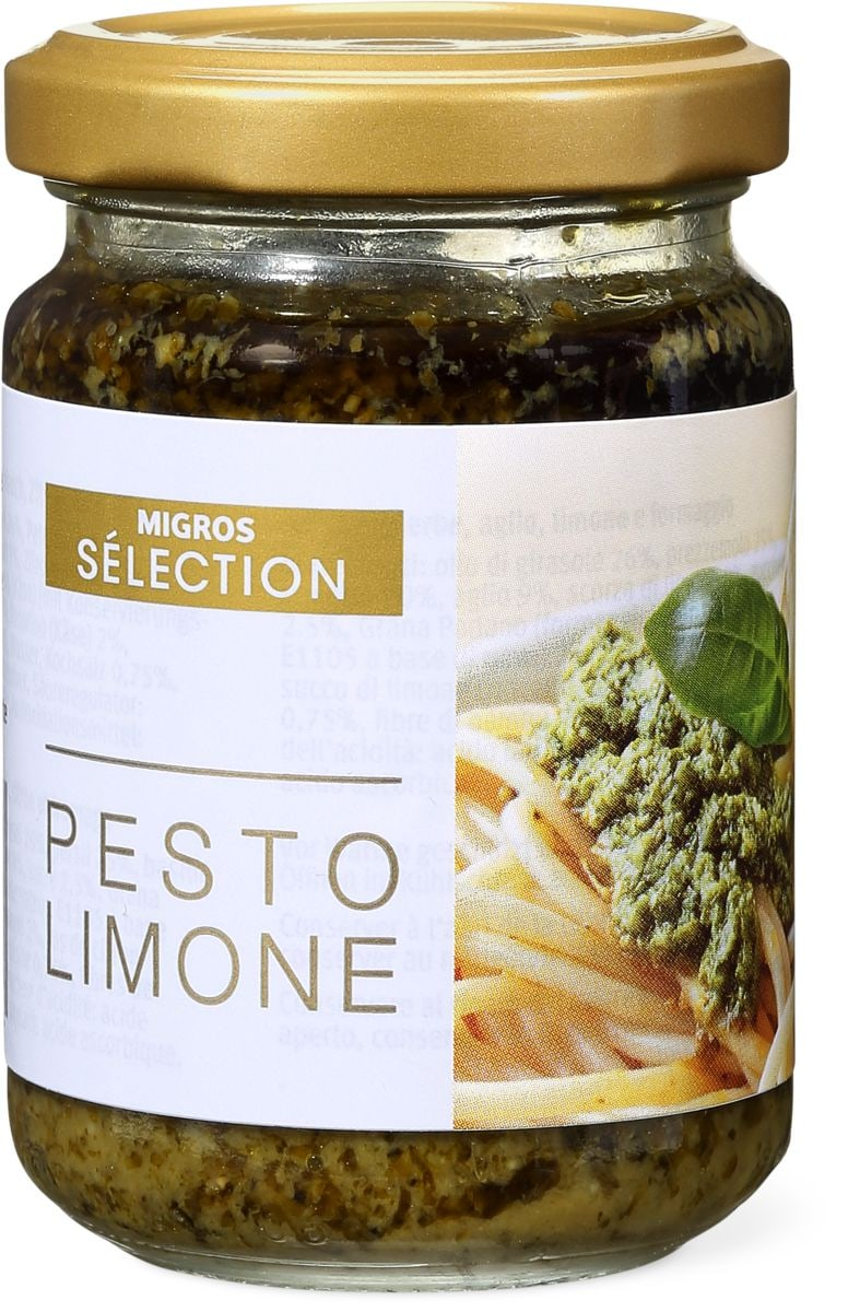 Sélection Pesto limone