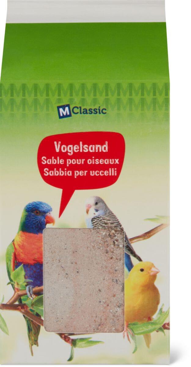 Sable pour oiseaux