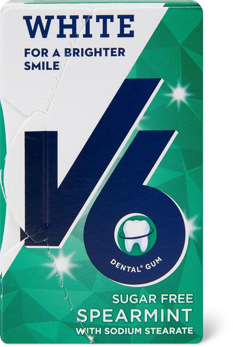 V6 Dental White Spearmint