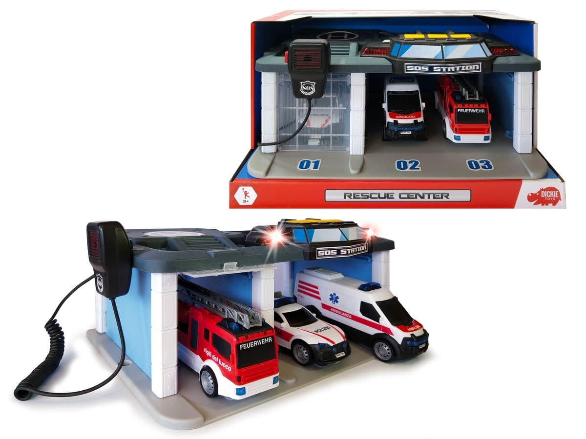 Dickie Toys Swiss Rescue Center Spielfahrzeug