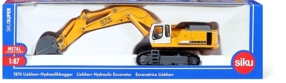 Escavatore idraulico Liebherr 1:87