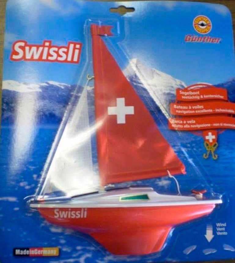 Segelboot Swissli Wasser-Spielzeug