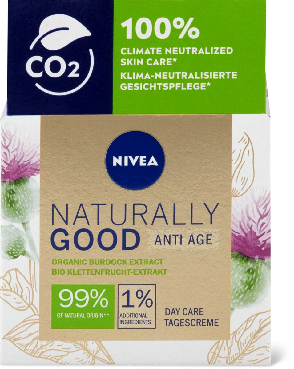 Nivea Naturally Good Anti-Age Tagescreme