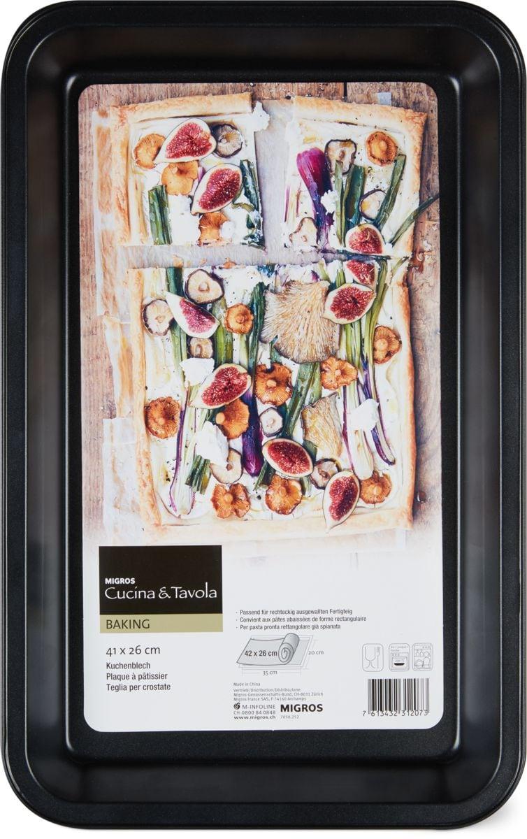 Cucina & Tavola Kuchenblech 42 x 26cm