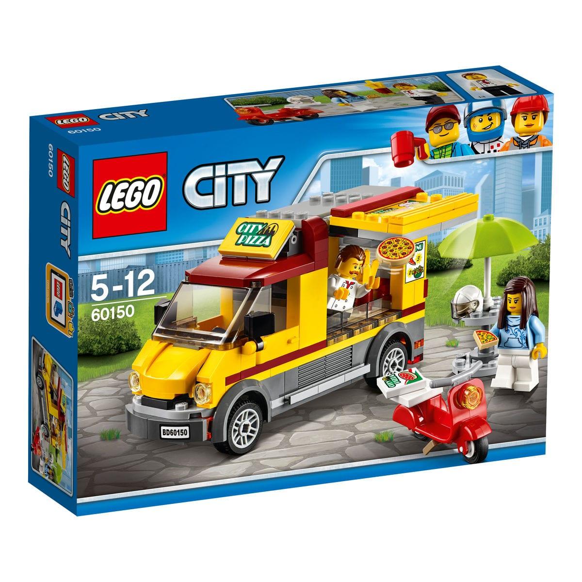 LEGO City Furgone delle pizze 60150