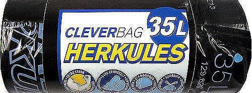 Sacchi per rifiuti Herkules Cleverbag, 35 l
