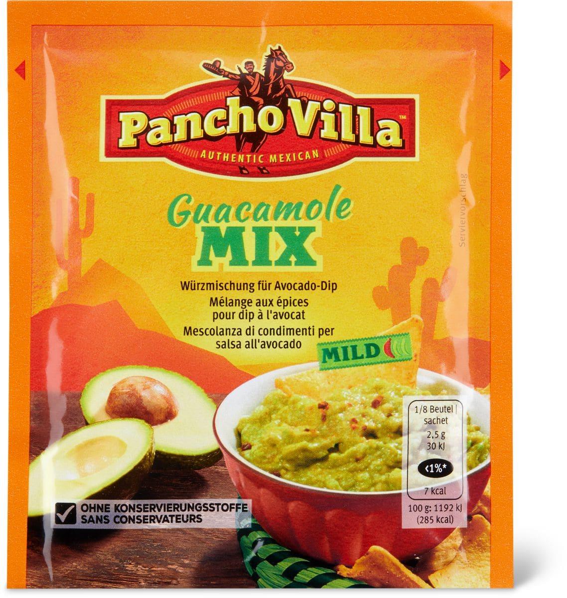 Pancho Villa Guacamole Mix