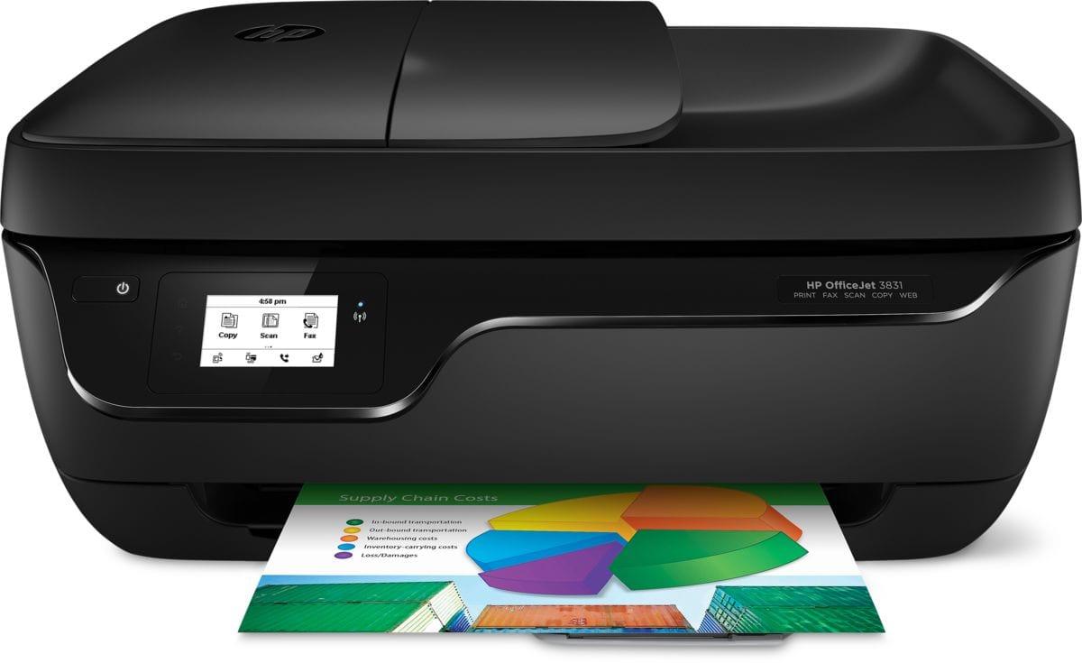 HP Drucker OfficeJet 3831 All in One