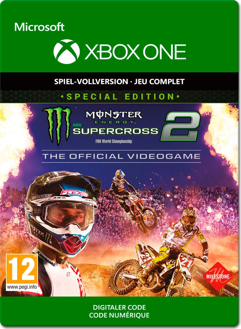Xbox One - Monster Energy Supercross 2 Special Edition Download (ESD)