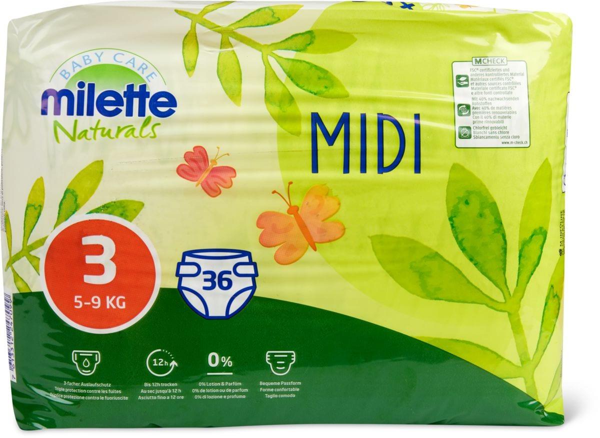 Milette Naturals Midi 3, 5-9kg