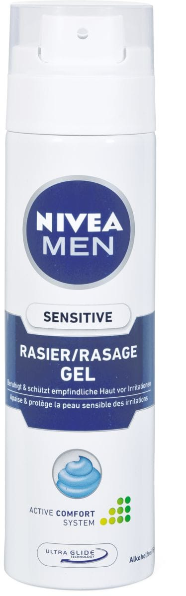 Nivea Men Gel da barba sens.