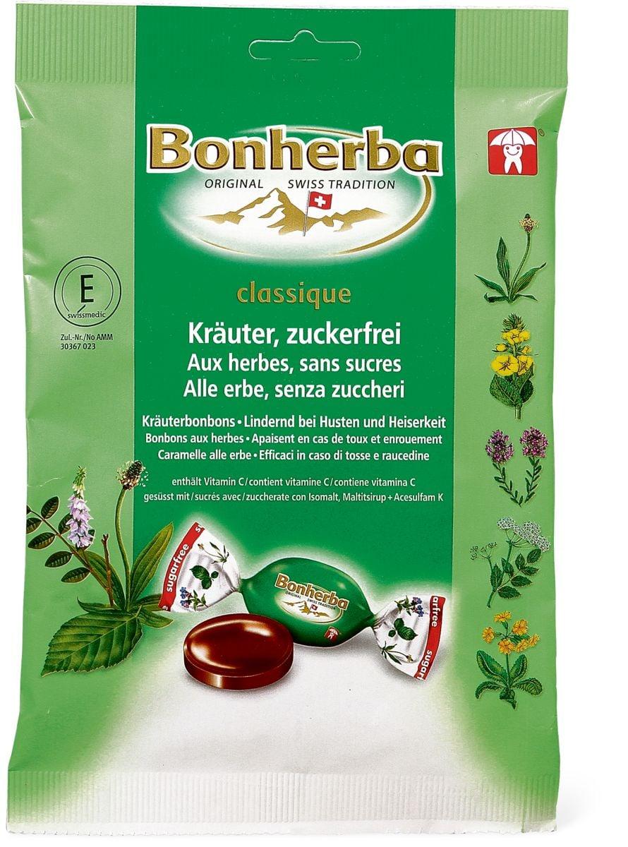 Bonherba Kräuterbonbons zuckerfrei