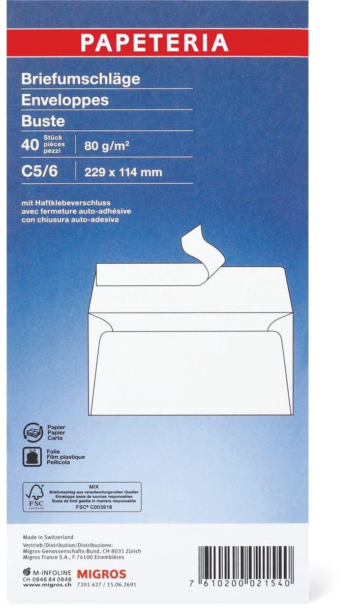 Papeteria C5/6 Enveloppes