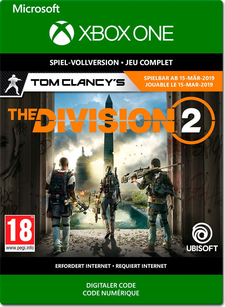 Xbox One - Tom Clancy's The Division 2 Download (ESD)