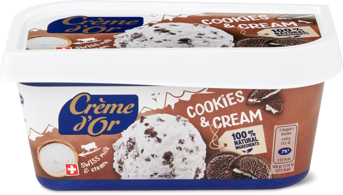 Crème d'or Cookies & Cream