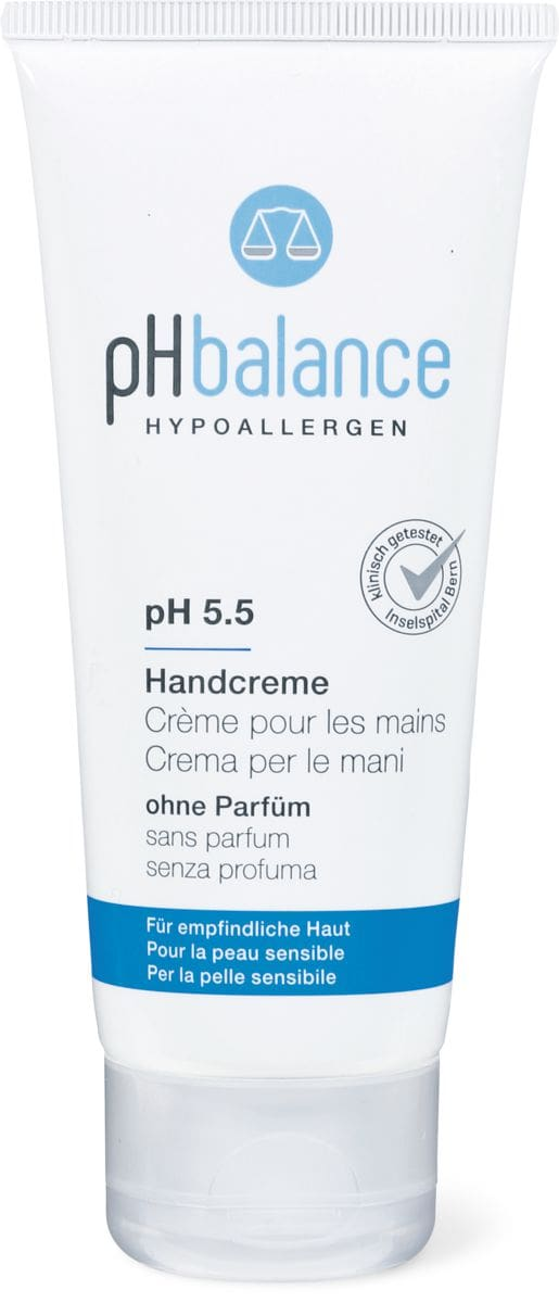 pH balance Handcreme ohne Parfüm