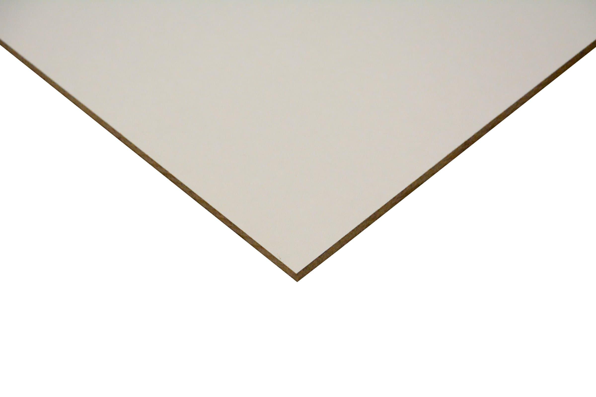 panneau mdf lack line 1 face blanc migros. Black Bedroom Furniture Sets. Home Design Ideas