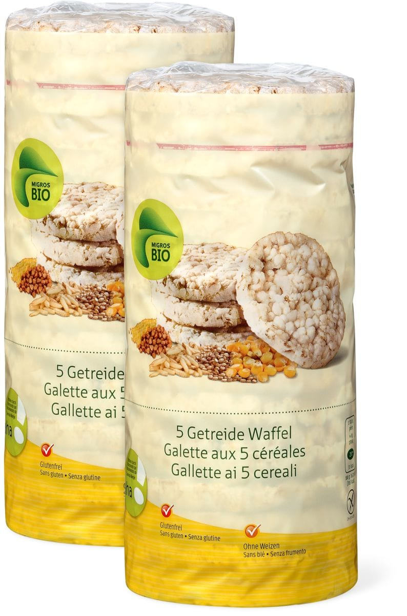 Bio aha! gallette ai 5 cereali