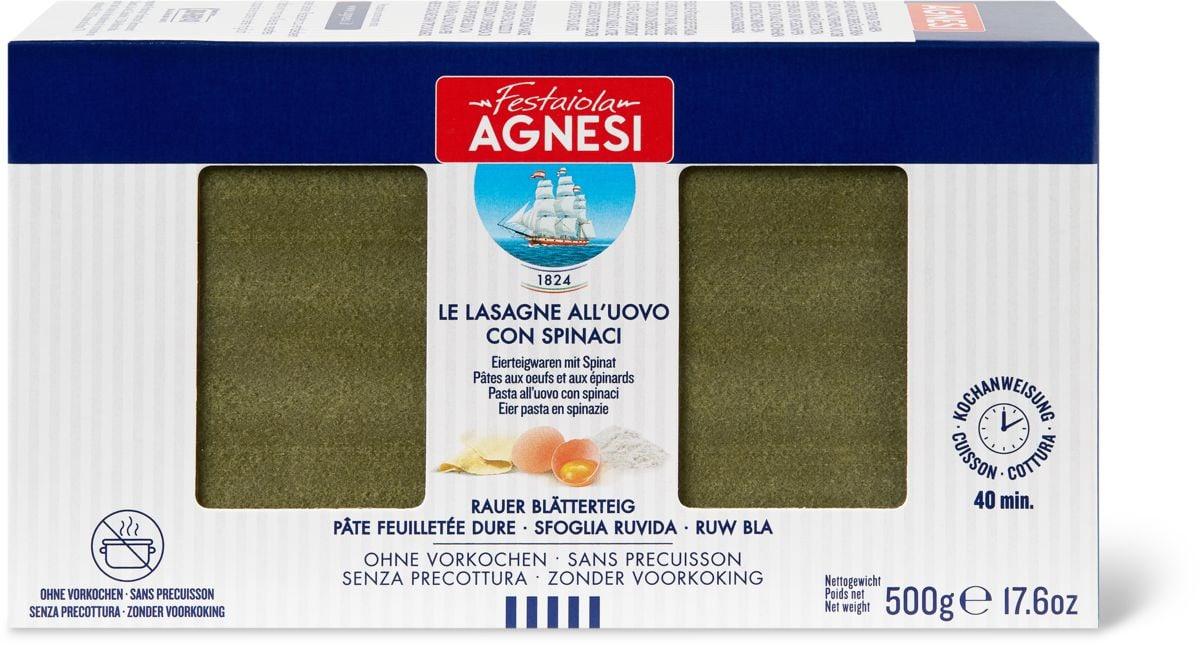 Agnesi Lasagne verdi