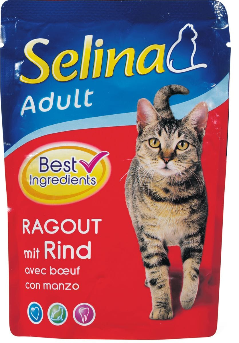 Selina Adult Ragout avec Boeuf