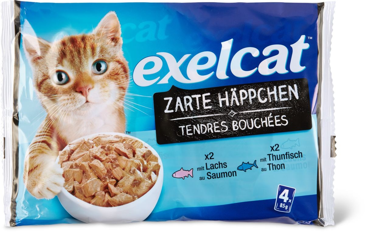 Exelcat Tendres Bouchées poisson