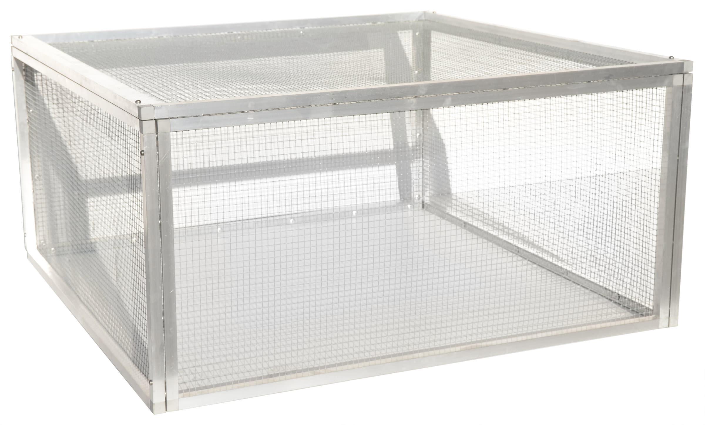 Schildkröten-Unterbau L, Gitter L103 x B100 x H 52 cm
