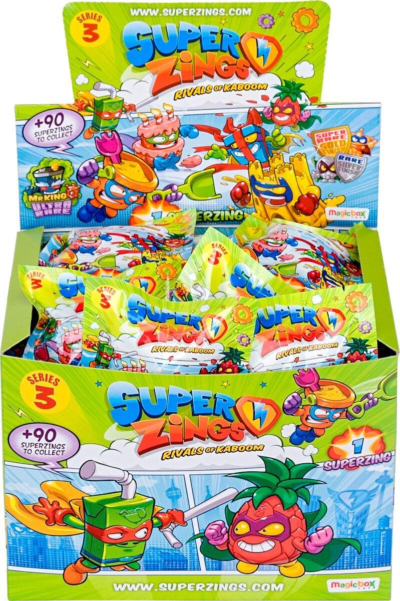 Superzings 3 50 one Pack Spielfigur