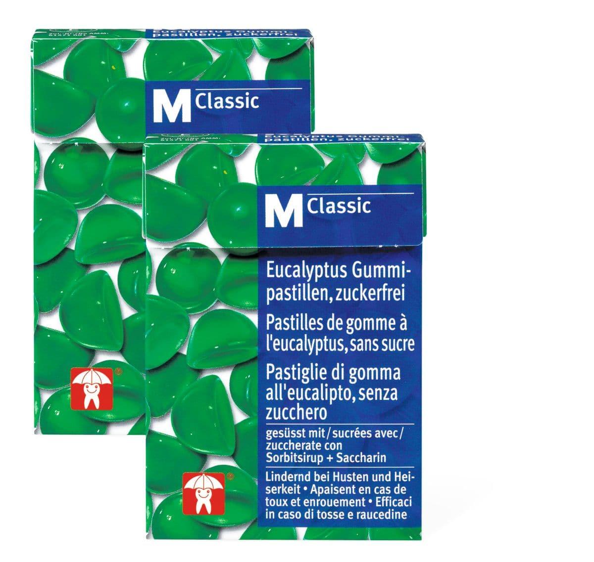 M-Classic Eucalyptus sans sucre