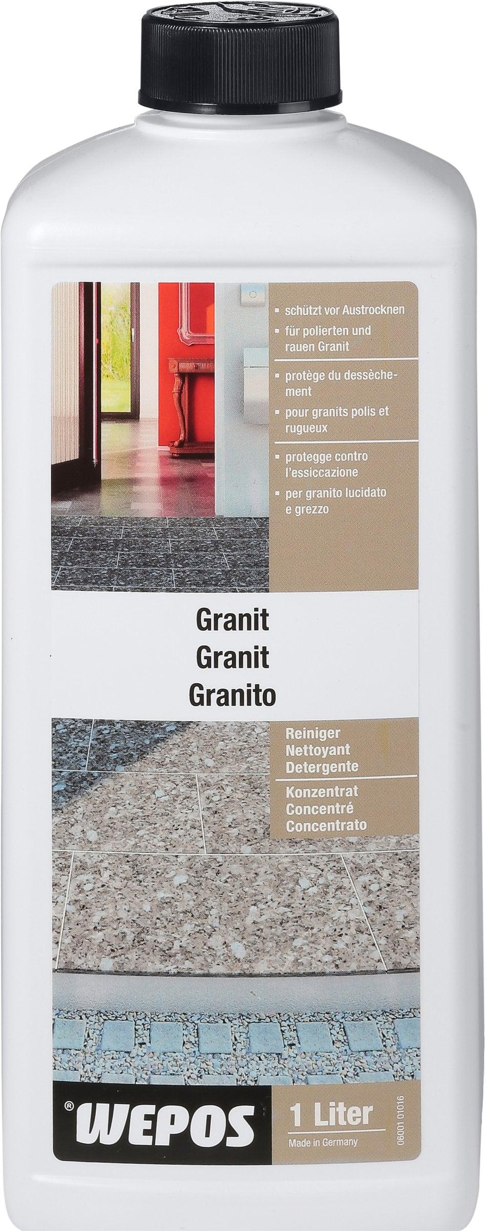wepos granit reiniger konzentrat migipedia. Black Bedroom Furniture Sets. Home Design Ideas