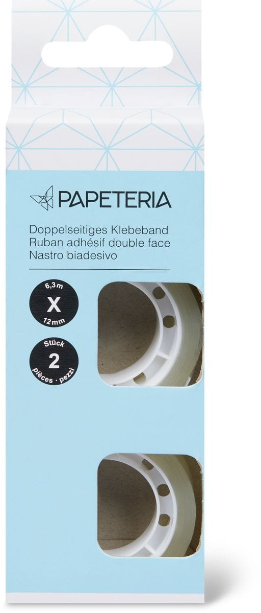 Papeteria Doppelseitiges Klebeb.2Stk