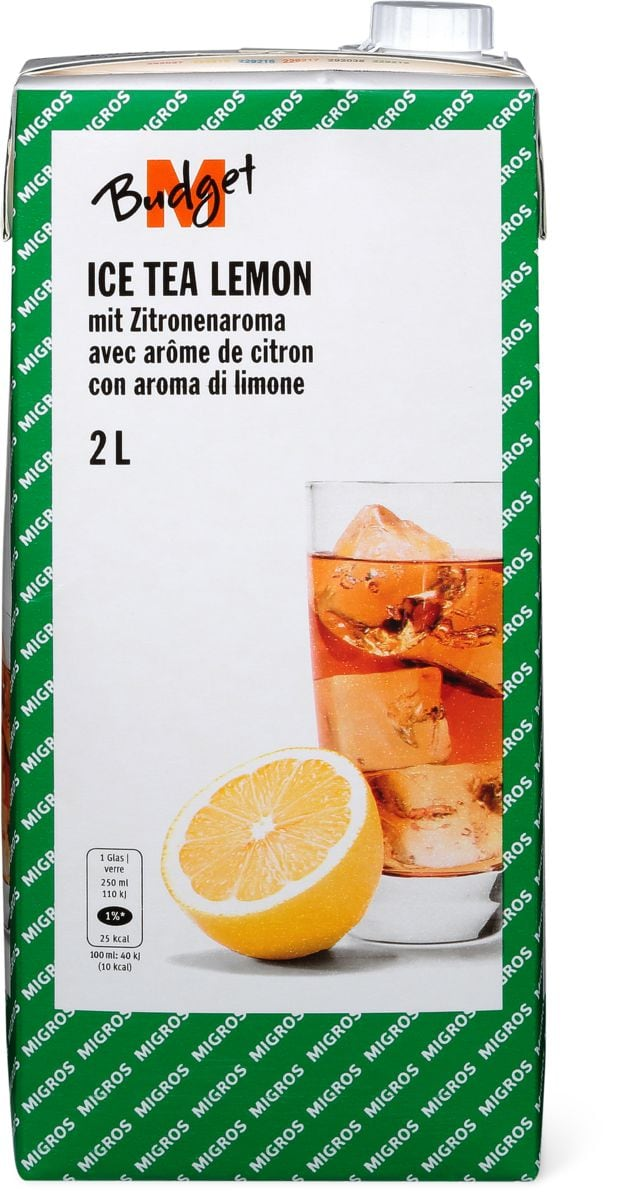 M-Budget Ice Tea Citron