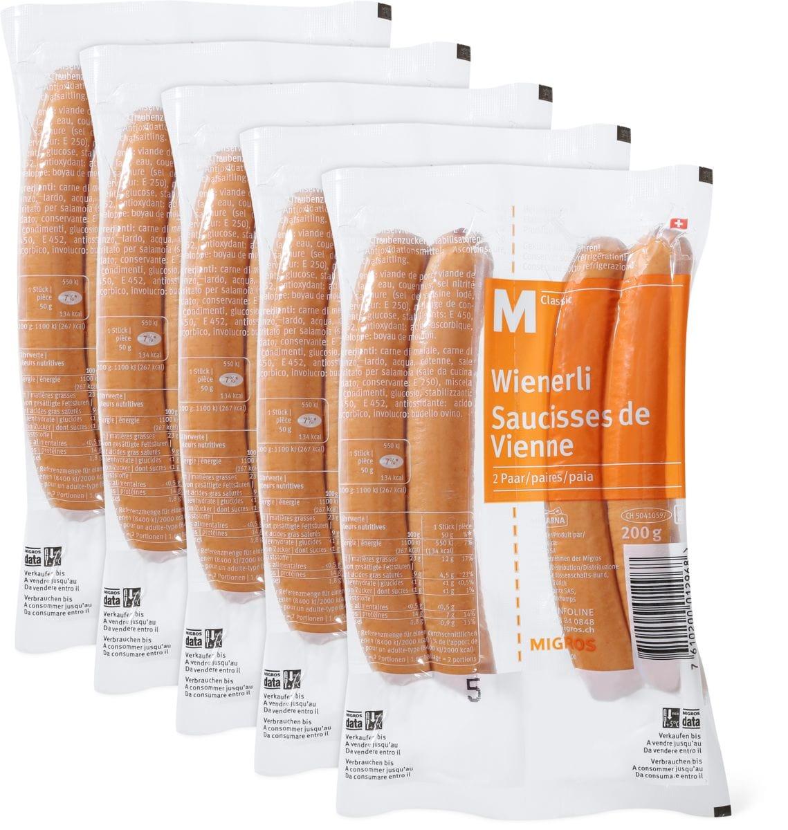 M-Classic Wienerli im 5er-Pack