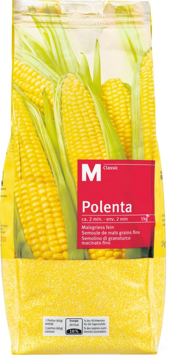 M-Classic Polenta fins