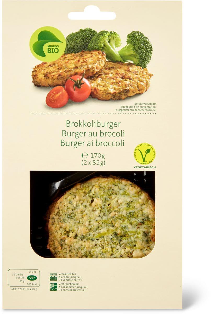 Bio burger ai broccoli