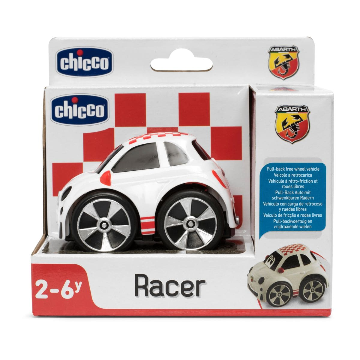 Chicco Turbo Team 500 Stunt Abarth Spielfahrzeug