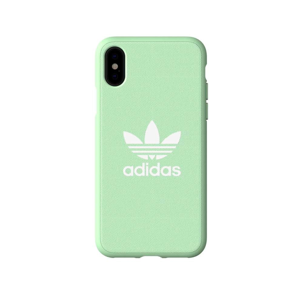 Adidas Originals Moulded Case CANVAS Clear Mint Hülle