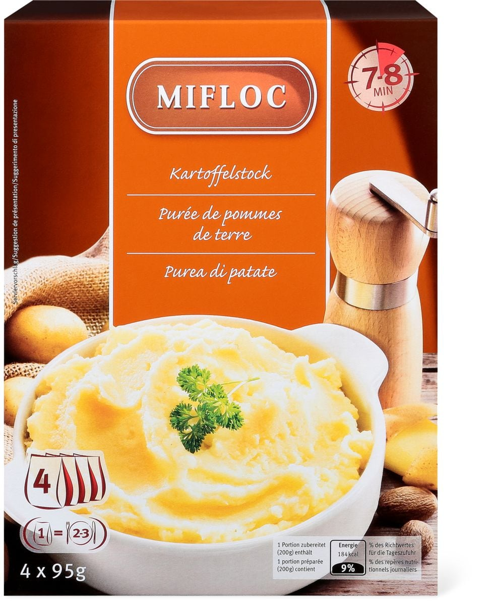 Mifloc purée de pommes de terre