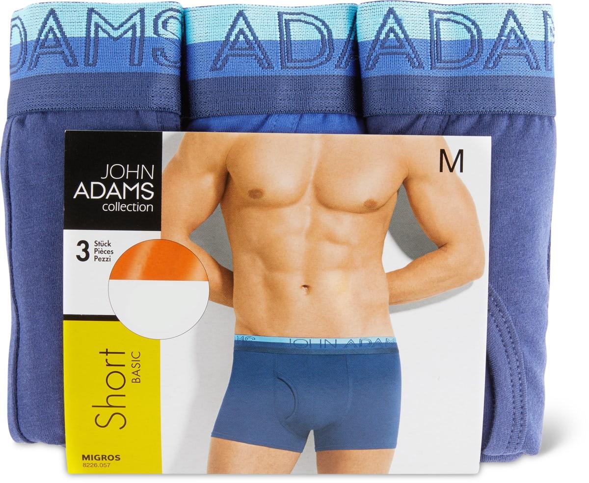 John Adams Herren-Short im 3er-Pack, 3er-Pack.Bei allen Angeboten sind M-Budget und bereits reduzierte Artikel ausgenommen.