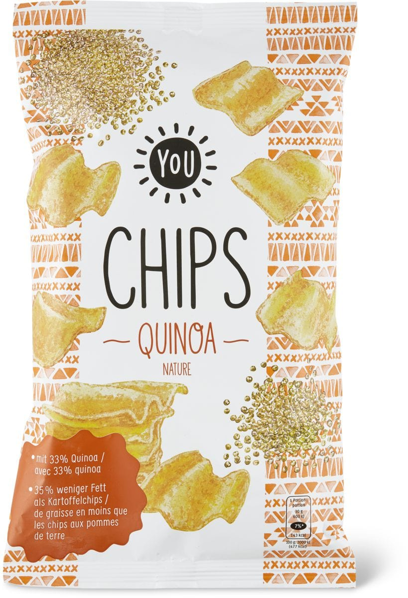 YOU quinoa chips